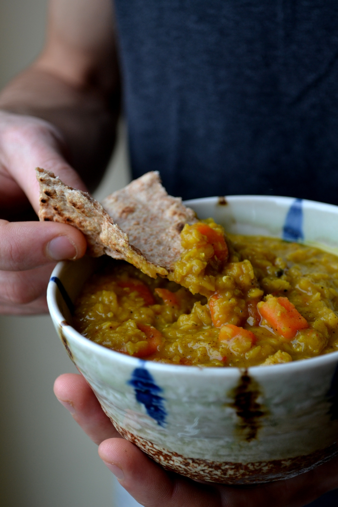 Lentil and CarrotsDahl