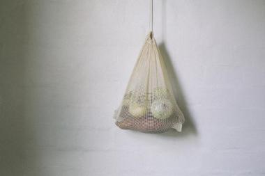 Grown & Gathered reusable bags