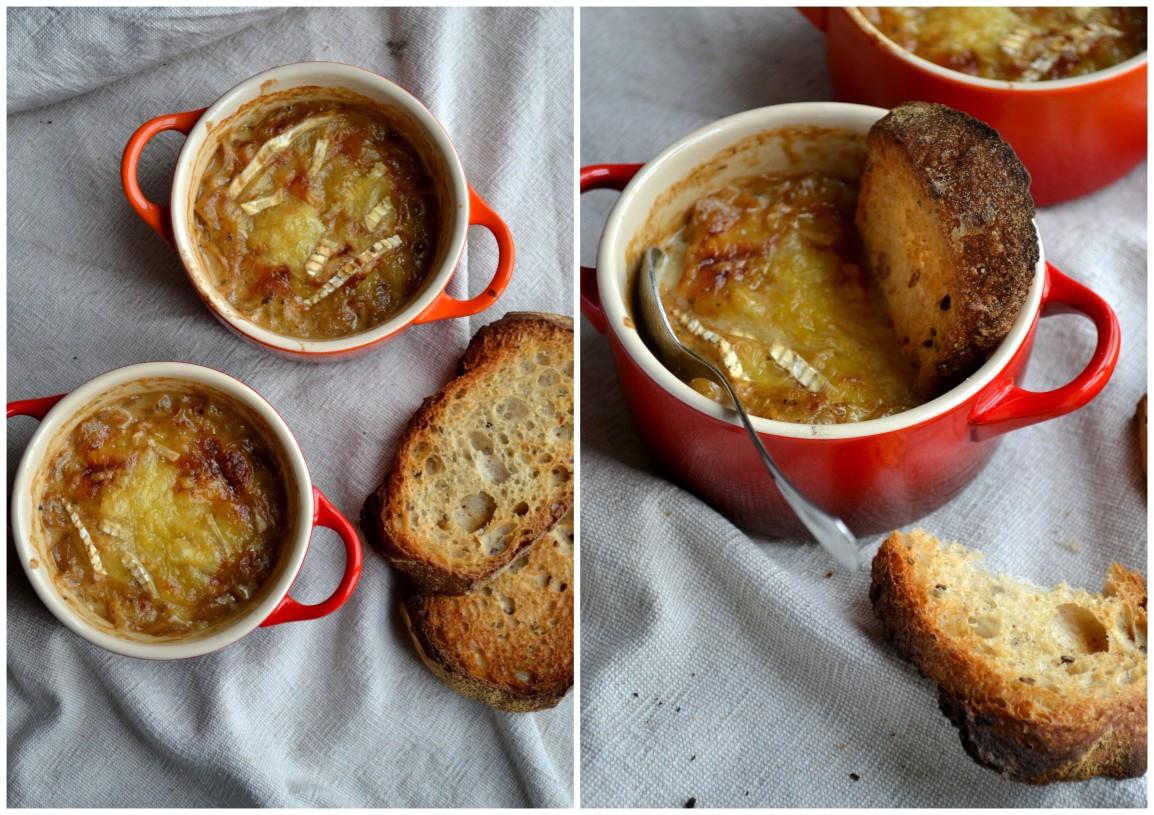 My own soupe àl'oignon