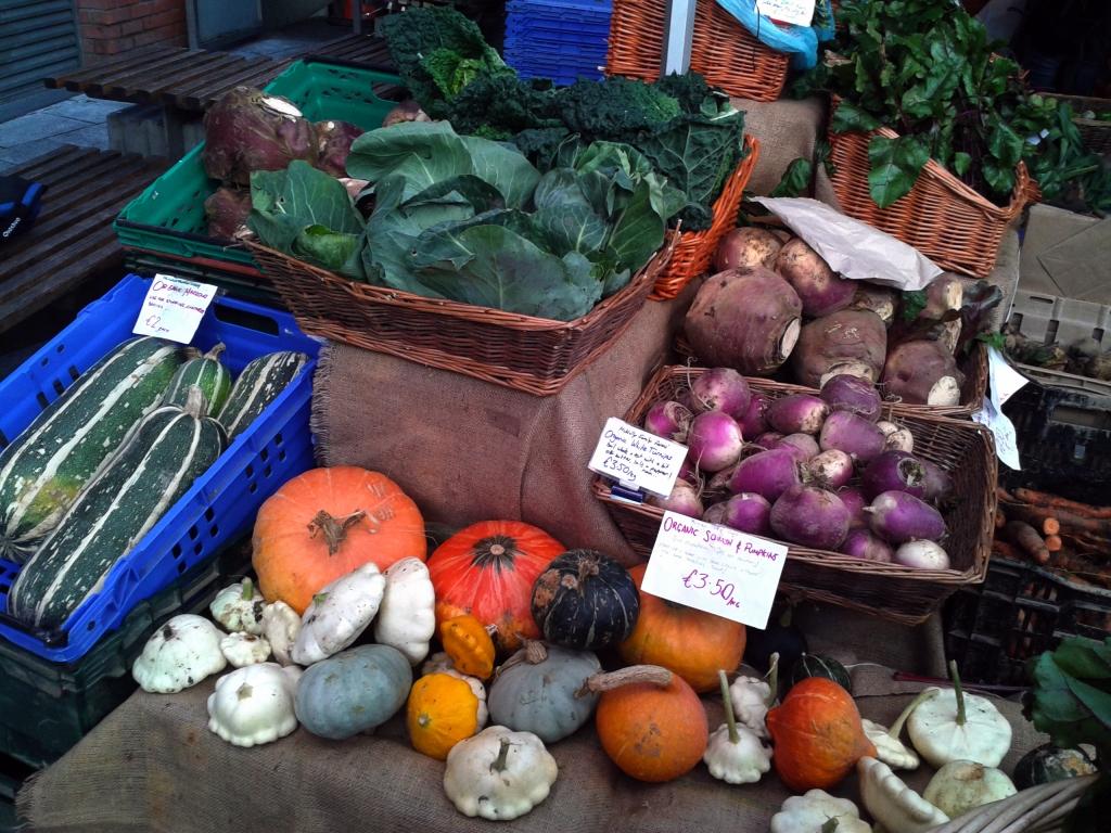 Food market in Dublin